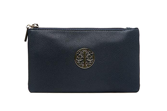 Tree Mini Clutch Bag Navy